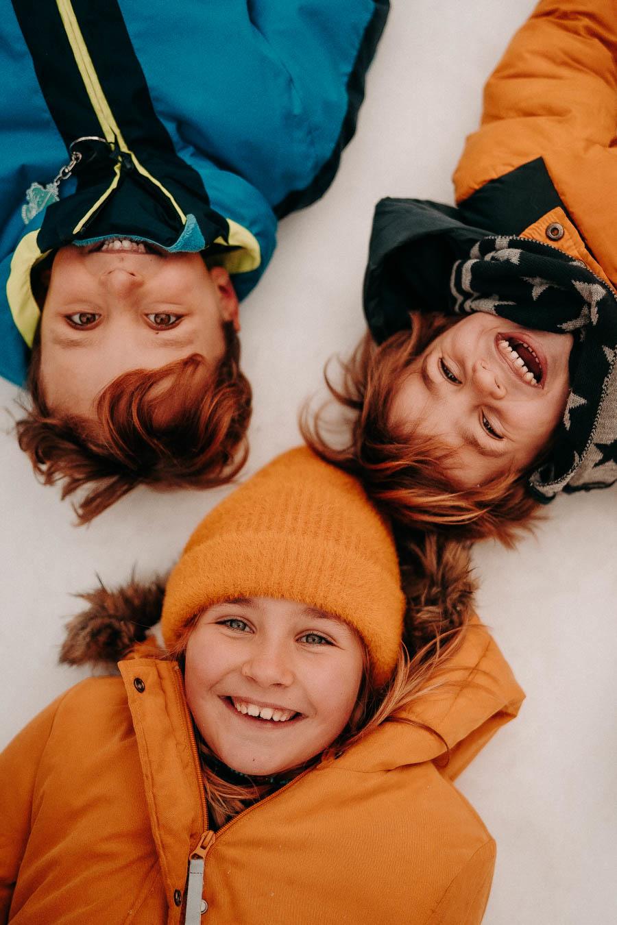 Photos Enfants neige montagne chablais suisse